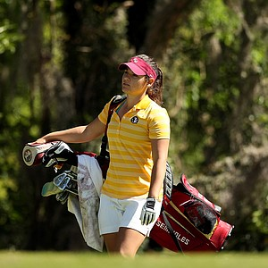 Florida State's Jessica Negron at No. 10 during the Sun Trust Gator Women's Invite.