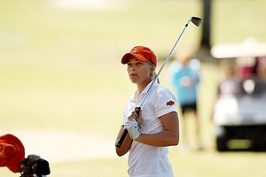 Oklahoma State's Josephine Janson during the Sun Trust Gator Women's Invite.