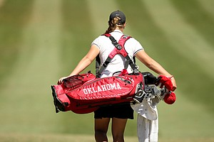 Oklahoma is T2 after two rounds of the Sun Trust Women's Gator Invite.