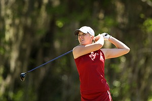 Alabama's Jennifer Kirby during the Sun Trust Gator Women's Invite.