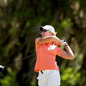 Isabelle Lendl of the Gators during the Sun Trust Gator Women's Invite at Mark Bostick Golf Course.
