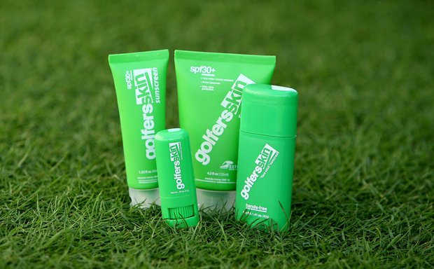 Golfers Skin sunscreen.