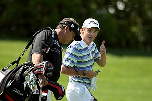 Bud Cauley during a practice round on Tuesday of the Arnold Palmer Invitational.