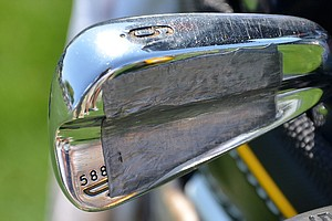 Boo Weekley, who was the runner-up last week in Tampa, uses a heavily-weighted set of Cleveland Forged 588 irons.