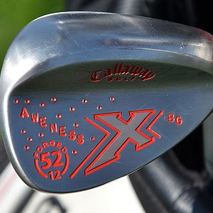 Branden Grace hopes his Callaway X Forged gap wedge gets his competition seeing red.
