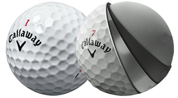 Callaway's Hex Chrome+ Golf Ball