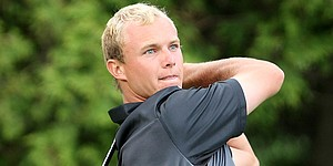 Two days after wedding, Hurley qualifies for tourney