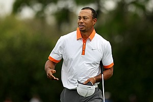 Tiger Woods during the Pro-Am on Wednesday of the Arnold Palmer Invitational.
