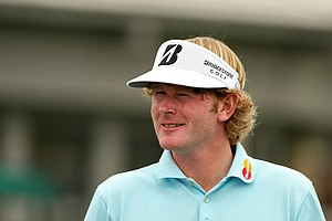 Brandt Snedeker on the practice green on Wednesday of the Arnold Palmer Invitational.