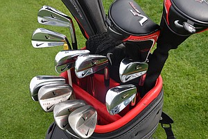 England's Ross Fisher, in the field at Bay Hill on a sponsor's exemption, uses Nike VR Pro blade irons and VR Pro wedges.