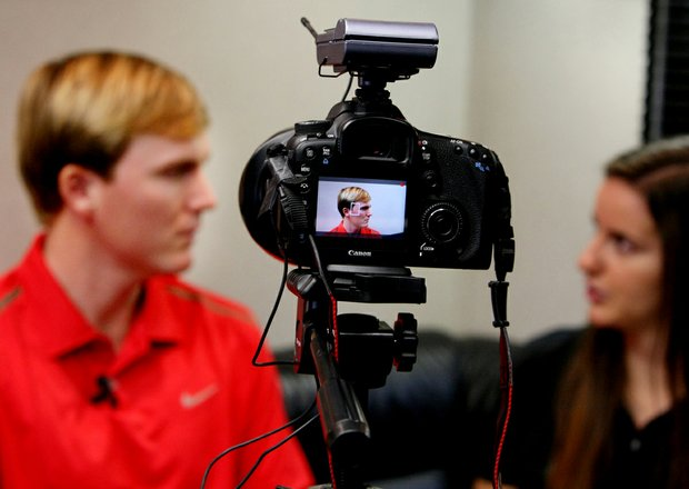 Russell Henley talks with Golfweek's Cassie Stein on Wednesday of the Arnold Palmer Invitational.
