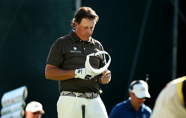 Phil Mickelson shot a 73 in Round 1 of the Arnold Palmer Invitational.