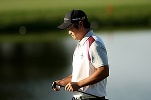 John Huh posted a 67 in Round 1 of the Arnold Palmer Invitational at Bay Hill Club and Lodge.