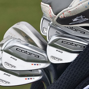 Ian Poulter switched to Cobra's AMP Cell Pro irons at the start of the 2013 season.