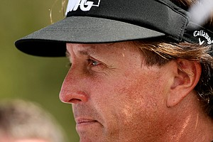 Phil Mickelson in Round 2 of the Arnold Palmer Invitational.