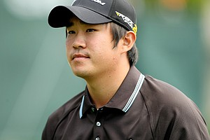 John Huh in Round 2 of the Arnold Palmer Invitational.