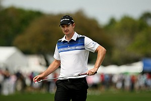 Justin Rose in Round 2 of the Arnold Palmer Invitational.