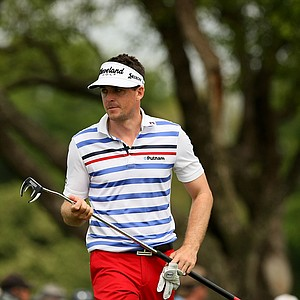 Keegan Bradley at No. 9  Round 2 of the Arnold Palmer Invitational.