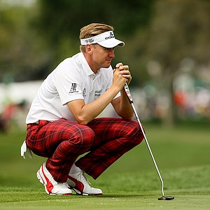 Ian Poulter in Round 2 of the Arnold Palmer Invitational.