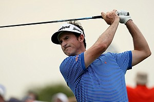 Gonzalo Fernandez-Castano was paired with Tiger Woods on Saturday.