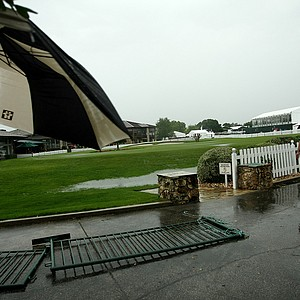Play was called after severe weather came through in the final round at Arnold Palmer Invitational at Bay Hill.