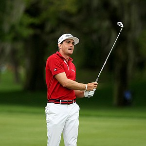 Keegan Bradley at No. 1 in the final round at Arnold Palmer Invitational at Bay Hill.