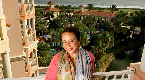 Sheila Johnson at Hammock Beach Resort