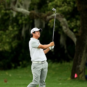 John Huh at No. 1 in the final round at Arnold Palmer Invitational at Bay Hill.