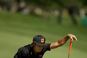 Rickie Fowler at No. 5 on Monday at Arnold Palmer Invitational at Bay Hill.