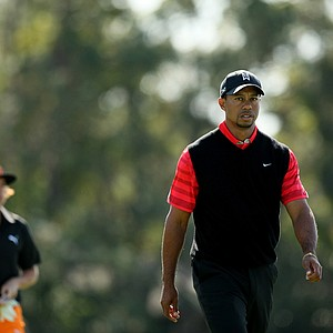 Tiger Woods on Monday at Arnold Palmer Invitational at Bay Hill.