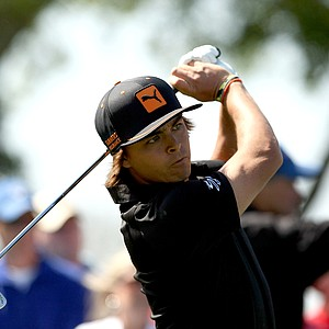 Rickie Fowler on Monday at Arnold Palmer Invitational at Bay Hill. Fowler tied for third.