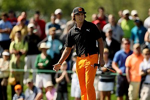 Rickie Fowler on Monday at Arnold Palmer Invitational at Bay Hill.