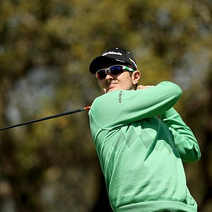 Justin Rose watches his tee shot at No. 15 on Monday at Arnold Palmer Invitational at Bay Hill. Rose finished solo 2nd.