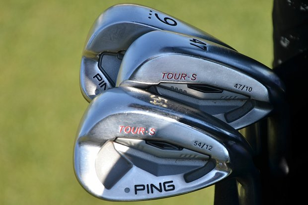 Louis Oosthuizen, the runner-up at last season's Masters, uses Ping's Tour-S wedges around the greens.