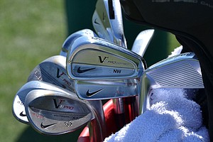Nick Watney uses Nike VR Pro Combo irons and VR Pro wedges.