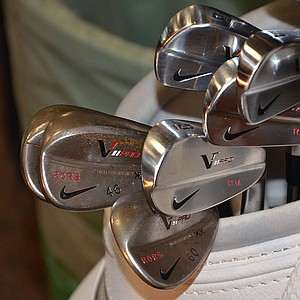Rory McIlroy will try to get back the world's No. 1 ranking using these Nike VR Pro Blades and wedges.