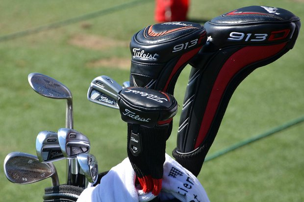Although he's using the latest 913D3 driver, Steve Stricker is still playing Titleist's 710 AP2 irons.