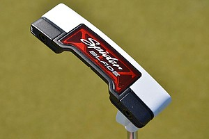 On Tuesday, TaylorMade unveiled the new, counterbalanced Spider Blade putter on the PGA Tour at Redstone Golf Club.
