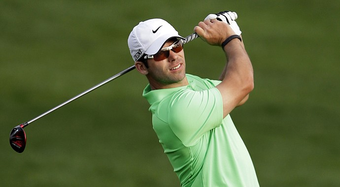 Paul Casey during the 2013 Desert Classic Golf tournament in Dubai, United Arab Emirates.