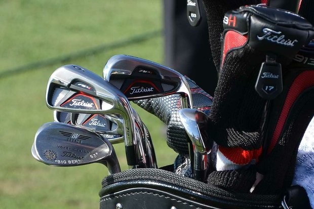 Ben Curtis plays Titleist's larger-headed, higher-flying 712 AP1 irons.