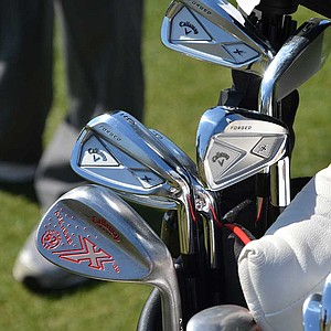 Branden Grace updated his irons for the 2013 season to Callaway's  X Forged, but he kept his putter headcover from last season's U.S. Open.