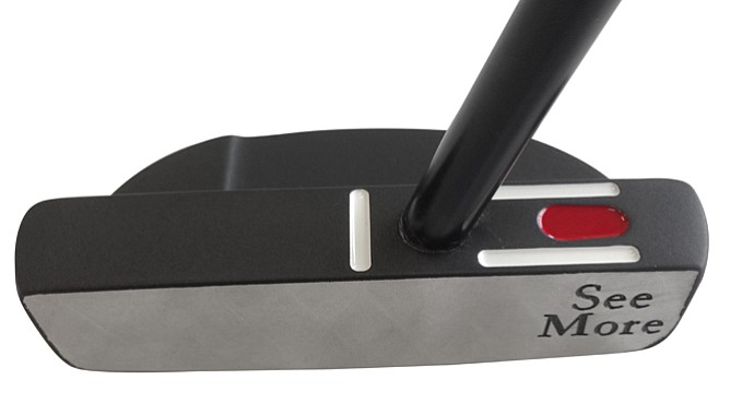 SeeMore PTM 3 Black Stealth putter, available beginning April 2013.