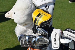 Retief Goosen has been using TaylorMade's new RocketBladez Tour irons this season.