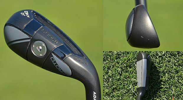 The Adams DHy driving iron is finding its way into PGA Tour bags.