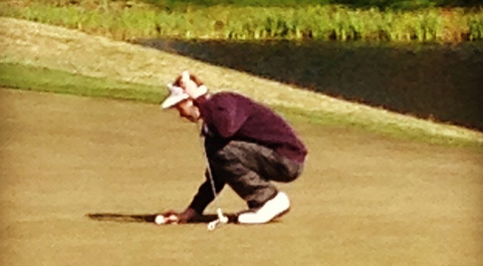 Zach Weaver, who plays for Arab High School, shot a 3-over 74 in the qualifying round of the Palmetto High School Championship.