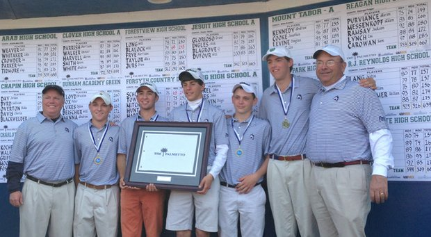 Forsyth (N.C.) Country Day School won the Championship Flight at the Palmetto High School Championship by two shots.