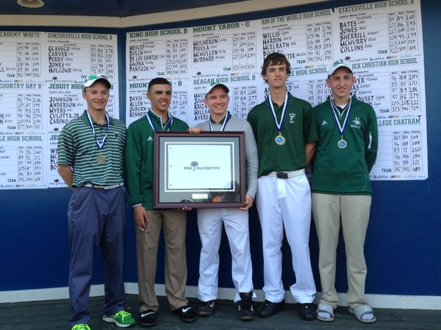 St. Joseph (S.C.) High School won the First Flight with a two-day total of 81 over.