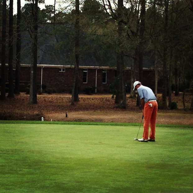 Ben Schlottman during the Palmetto High School Championship.