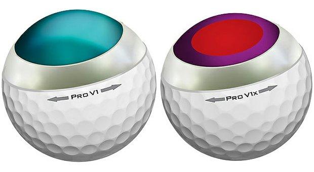 Titleist's Pro V1 and Pro V1x