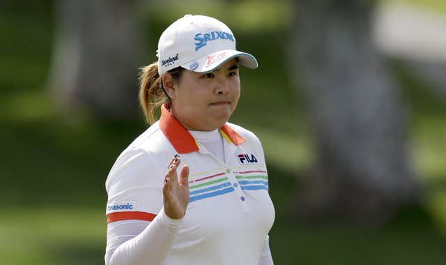 Inbee Park during the second round of the 2013 Kraft Nabisco Championship in Rancho Mirage, Calif.
